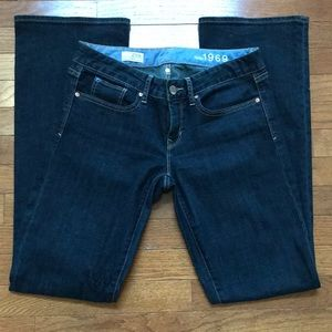Gap Dark Wash Bootcut Jeans Sz 4